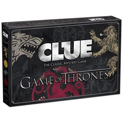 Clue: Game of Thrones (No Amazon Sales)