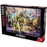 Puzzle: 1000 Dino Toys Come Alive