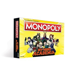 Monopoly: My Hero Academia (No Amazon Sales)