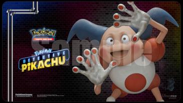 Playmat: Pokemon: Detective Pikachu Playmat: Mr.Mime