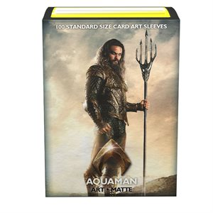 Sleeves: Dragon Shield Limited Edition Matte Art: Justice League Aquaman (100)