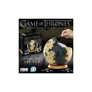 "3D Puzzle: Game of Thrones: Globe (9"") (540 Pieces)"