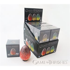 3D Puzzle: Game of Thrones: Dragon Eggs Display (80 Pieces)