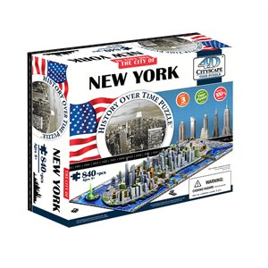 4D Cityscape: New York, USA (905 Pieces)