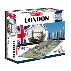 4D Cityscape: London, England (1158 Pieces)