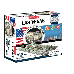 4D Cityscape: Las Vegas, USA (1202 Pieces)