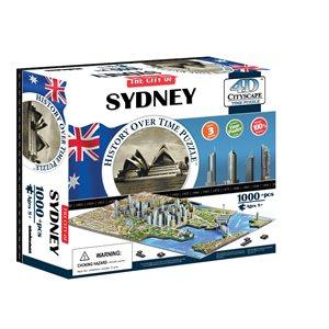 4D Cityscape: Sydney, Australia (1023 Pieces)
