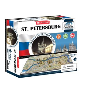 4D Cityscape: Saint Petersburg, Russia (1240 Pieces)