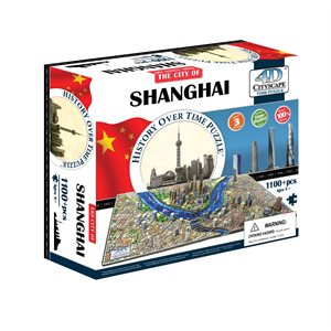 4D Cityscape: Shanghai, China (1200 Pieces)