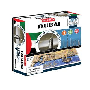 4D Cityscape: Dubai, UAE (1065 Pieces)