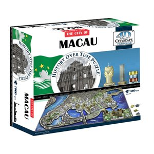 4D Cityscape: Macau, China (1023 Pieces)