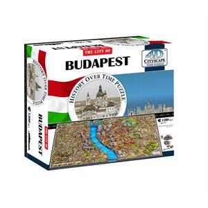 4D Cityscape: 4D Budapest (1265 Pieces)