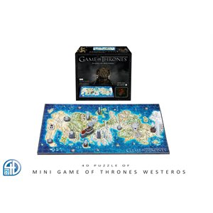 4D Puzzle: Game of Thrones: Mini Westeros (358 Pieces)