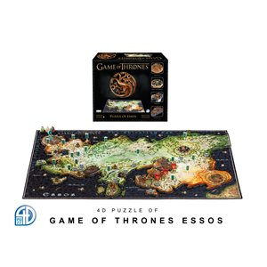 4D Puzzle: Game of Thrones: Essos (1391 Pieces)