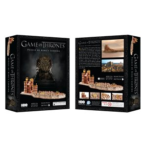 3D Puzzle: Game of Thrones: Kings Landing (260 Pieces)