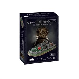 3D Puzzle: Game of Thrones: Winterfell (1000 Pieces)