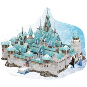 3D Puzzle: Disney Frozen Arendelle Castle (270 Pieces)