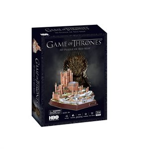 3D Puzzle: Game of Thrones: Red Keep (1000 Pieces)