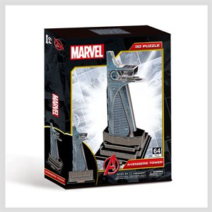 3D Puzzle: Marvel: Avengers Tower (81 Pieces)