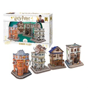 3D Puzzle: Harry Potter: Diagon Alley (275 Pieces)