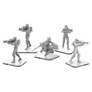 Monsterpocalypse: C-Type Shinobi and Shadow Rider – Shadow Sun Unit (metal)