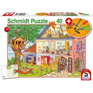 Puzzle: 40 Mechanic (Kids Tools Included) ^ Q2 2021