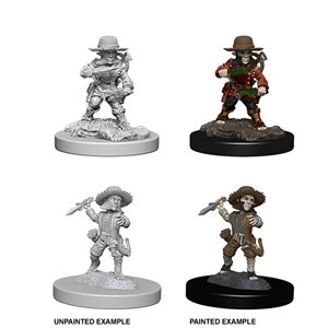 Pathfinder Deep Cuts Unpainted Miniatures: Wave 6: Male Halfling Rogue