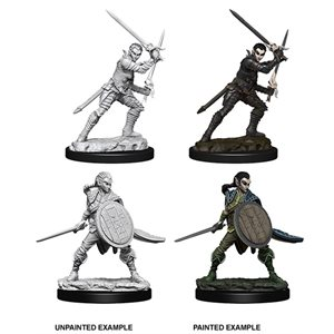 Pathfinder Deep Cuts Unpainted Miniatures: Wave 6: Elf Female Fighter
