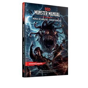 Donjons & Dragons: Manuel Des Monstres (BOOK) (FR)