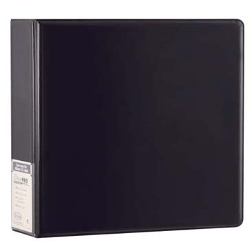 Binder: Ultra Pro 3Ring Black Plain Album