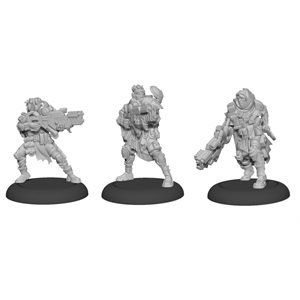 Warcaster: Marcher Worlds - Ranger Fire Team Squad (3) (metal) ^ OCT 23 2020
