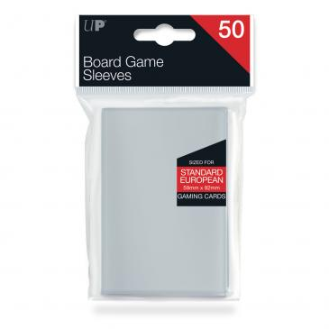 Sleeves: Standard European Board Game Sleeves (50ct)