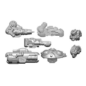 Warcaster: Aeternus Continuum - Scourge B Weapon Pack (metal) ^ OCT 23 2020