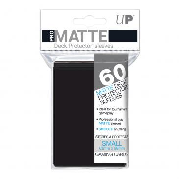 Sleeves: Pro-Matte Black Small Deck Protectors (60ct)