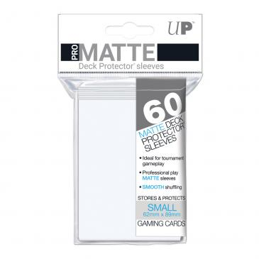 Sleeves: Pro-Matte White Small Deck Protectors (60ct)