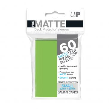 Sleeves: Pro-Matte Lime Green Small Deck Protectors (60ct)