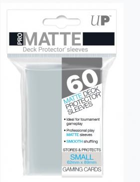 Sleeves: Pro-Matte Clear Small Deck Protectors (60ct)