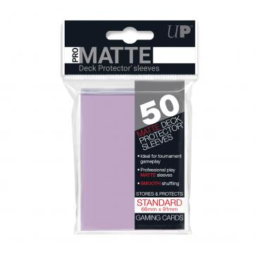 Sleeves: Pro-Matte Lilac Standard Deck Protectors (50ct)