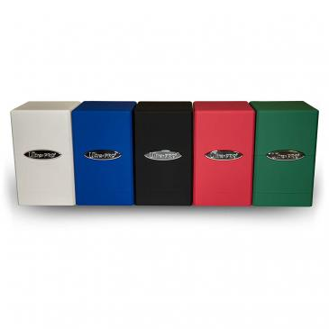 Deck Box: Satin Tower 5 Pack: White, Black, Red, Blue, Green (100ct)