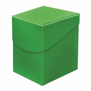 Deck Box: Eclipse PRO Lime Green (100ct)