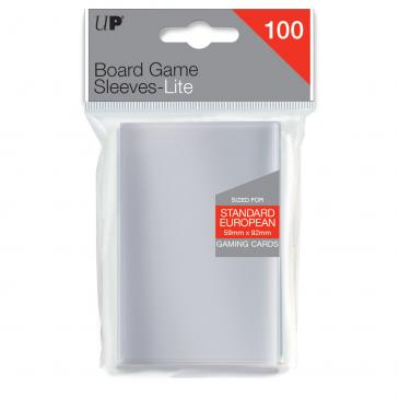 Sleeves: Lite Standard European Board Game Sleeves 59mm x 92mm (100ct)