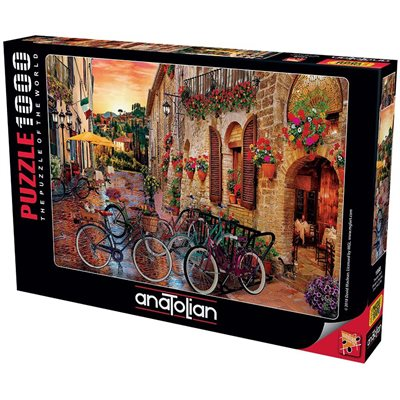 Puzzle: 1000 Biking in Tuscany