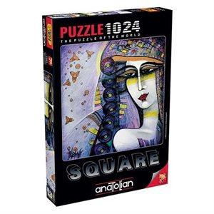 Puzzle: 1024 Poissons Dans Mes Cheveux