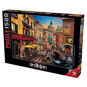 Puzzle: 1500 Canal Cafe Venice