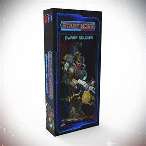 Starfinder Unpainted Miniatures: Dwarf Soldier ^ APR 2021
