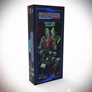 Starfinder Unpainted Miniatures: Half-Orc Soldier ^ APR 2021