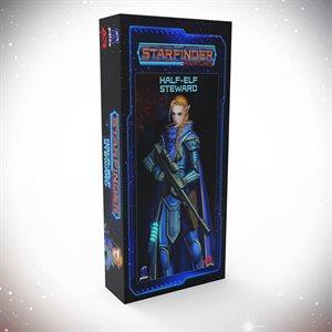 Starfinder Unpainted Miniatures: Half-Elf Steward ^ APR 2021