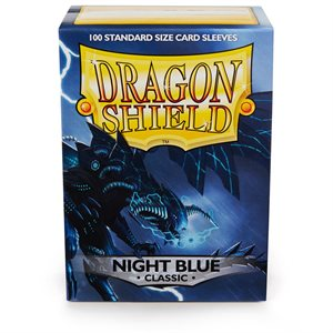 Sleeves: Dragon Shield Classic Night Blue (100)
