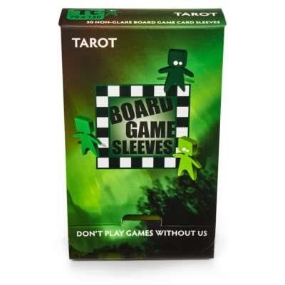 Sleeves: Board Game Tarot (Non-Glare) (50)