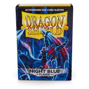 Sleeves: Dragon Shield Classic Night Blue (60)